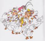 "An illustration from ""Chunder Chook Takes a Holiday"""